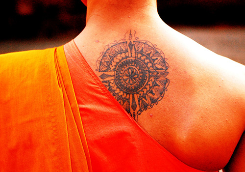 buddhist tattoos photo - 23