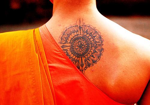 buddhist tattoos photo - 23