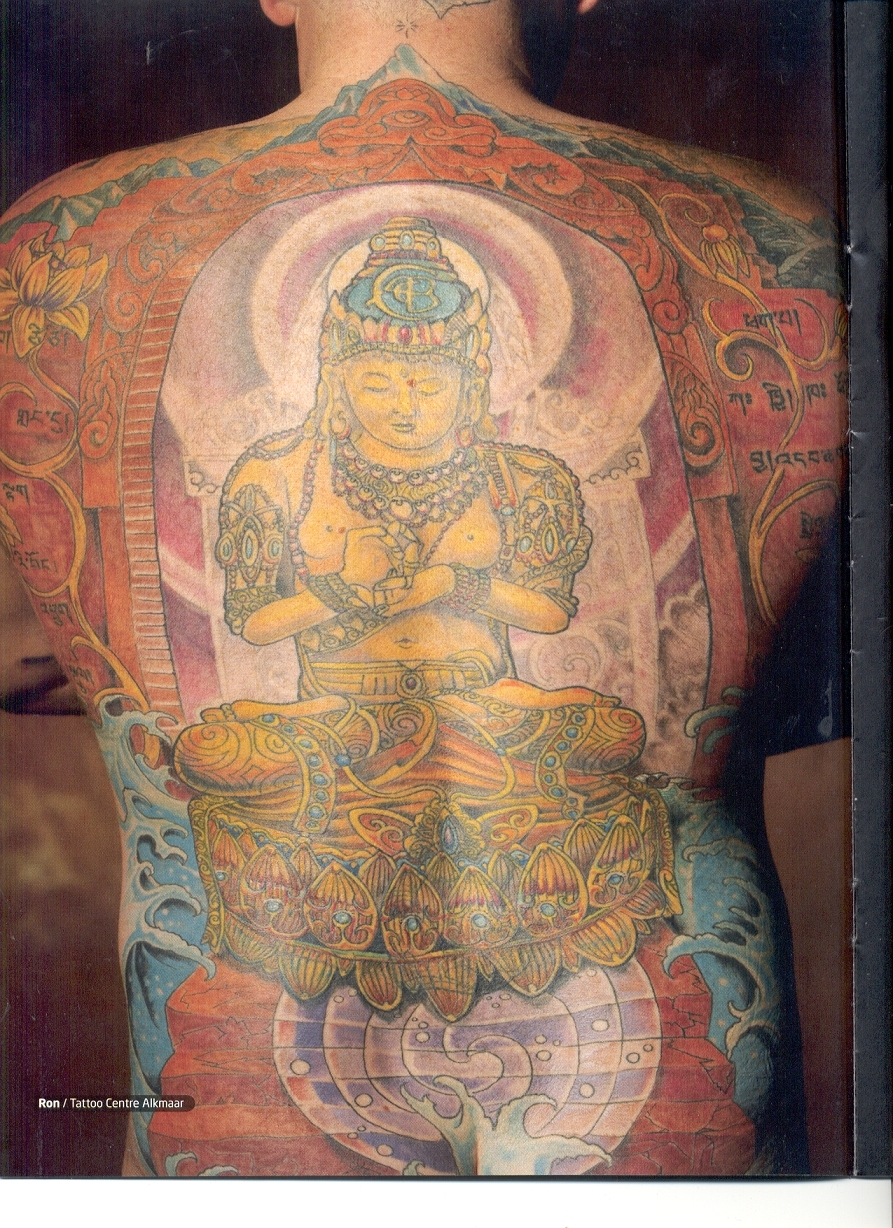 buddhist tattoos photo - 3