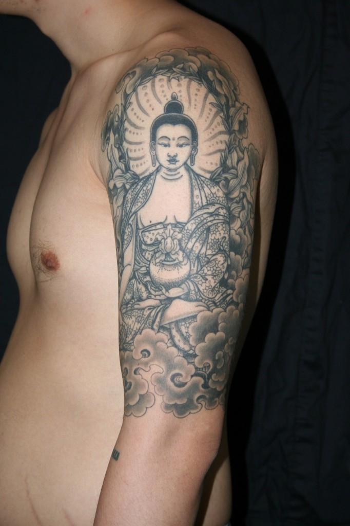 buddhist tattoos photo - 4
