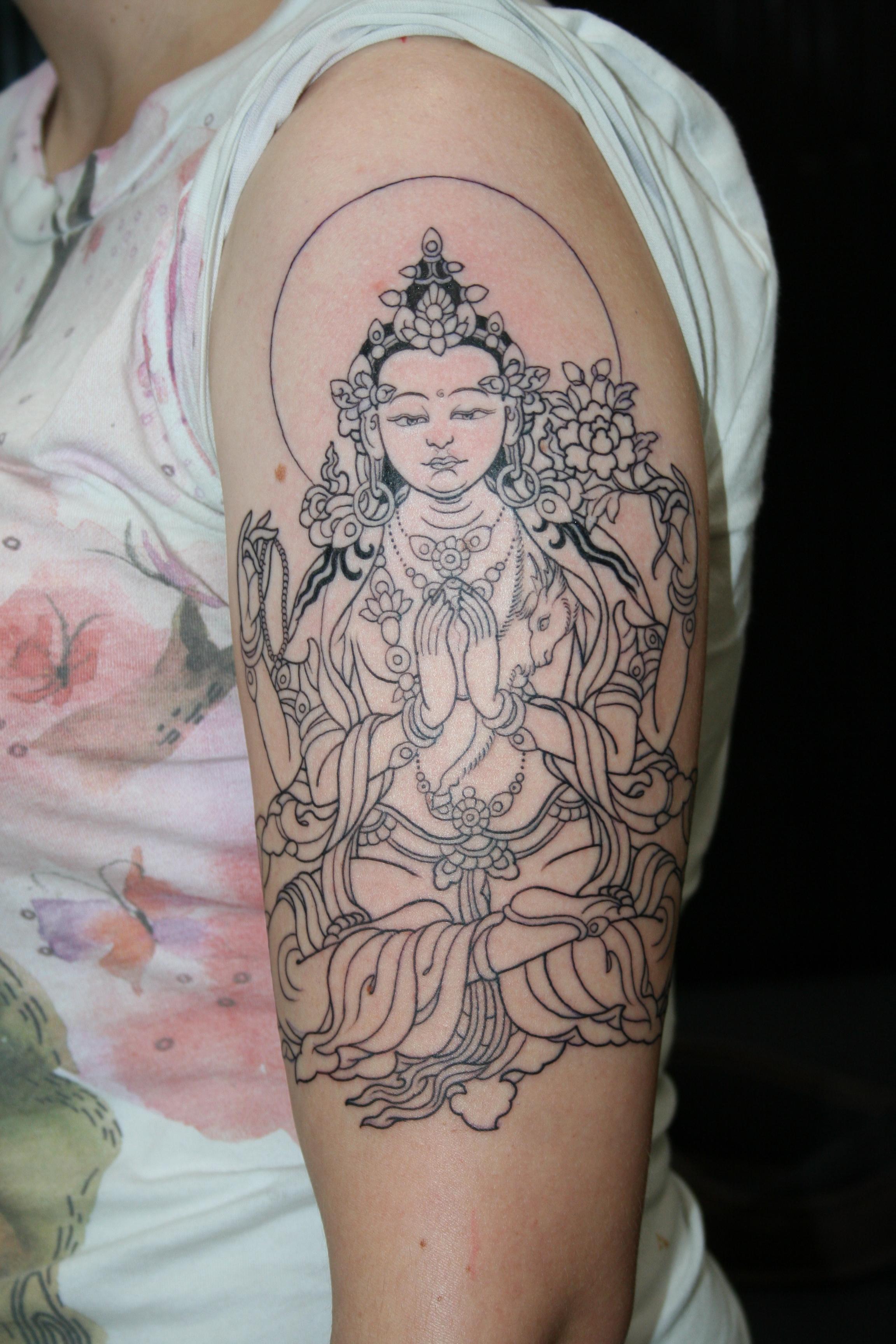 buddhist tattoos photo - 5