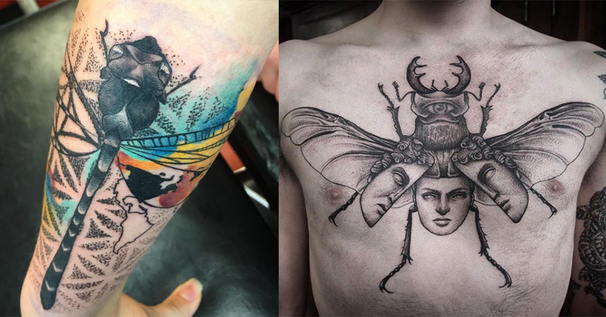 bug tattoos photo - 25