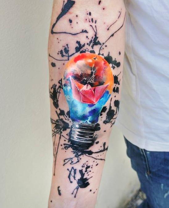 bulb tattoos photo - 13
