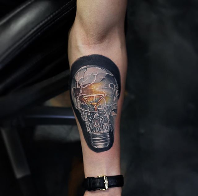 bulb tattoos photo - 15