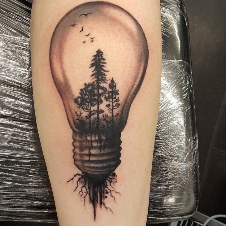 bulb tattoos photo - 2