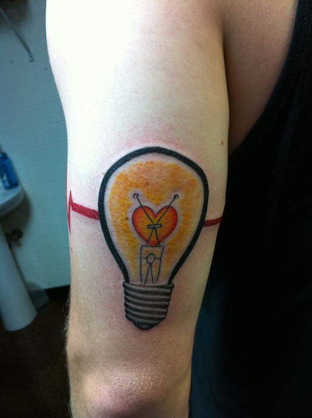 bulb tattoos photo - 26