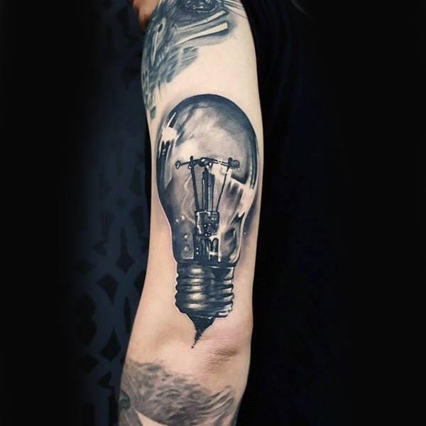 bulb tattoos photo - 28