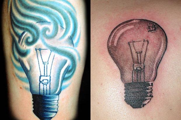 bulb tattoos photo - 37