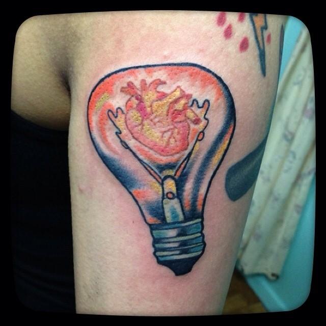 bulb tattoos photo - 39