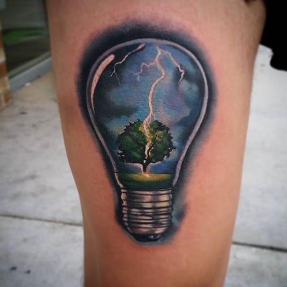 bulb tattoos photo - 4