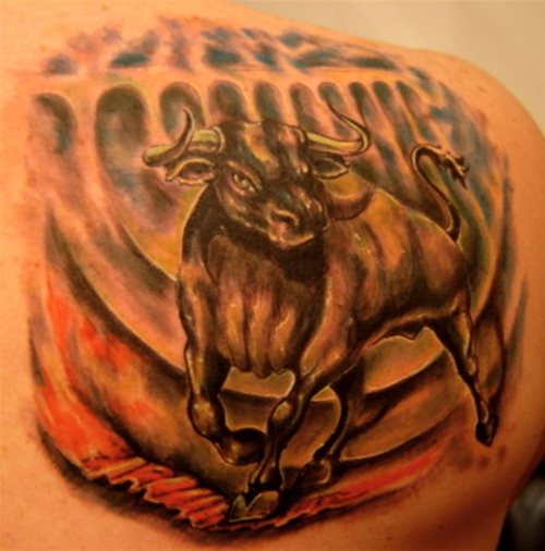 bull tattoos photo - 15