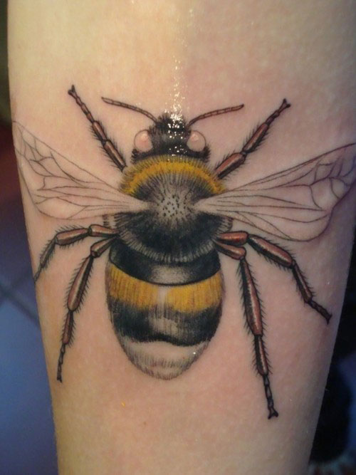 bumblebee tattoos photo - 13