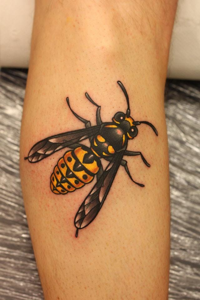 bumblebee tattoos photo - 18
