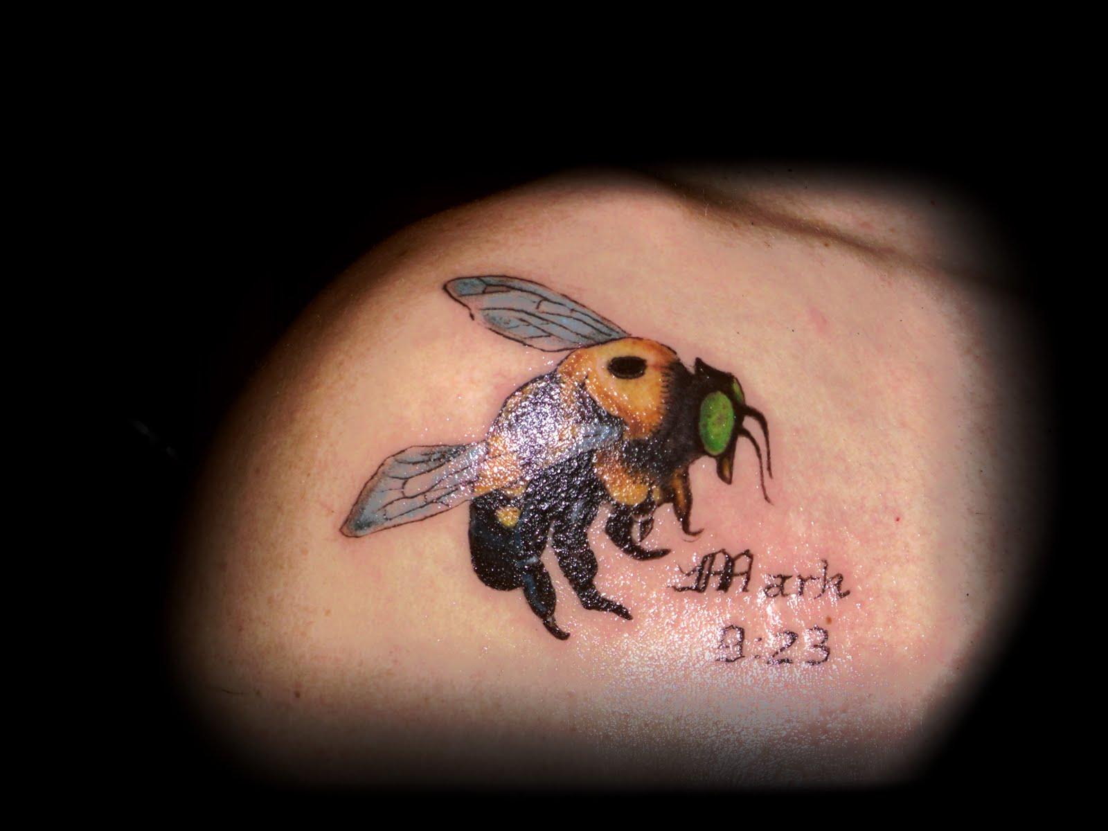 bumblebee tattoos photo - 23
