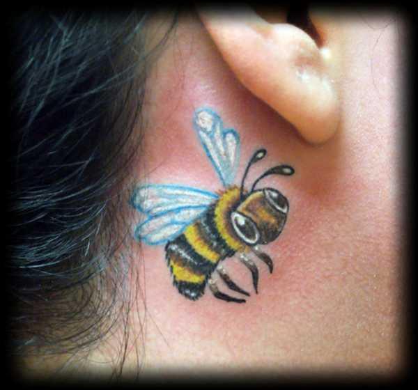 bumblebee tattoos photo - 25