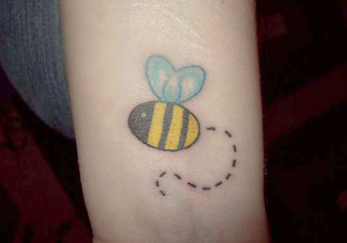bumblebee tattoos photo - 29