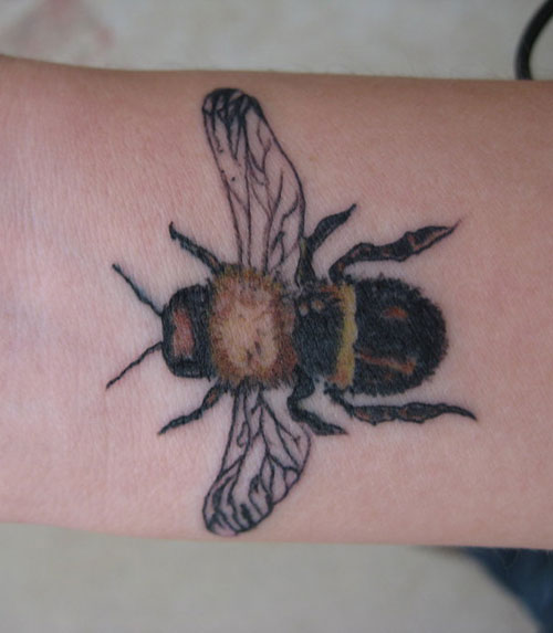 bumblebee tattoos photo - 30