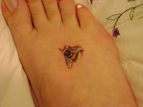 bumblebee tattoos photo - 6