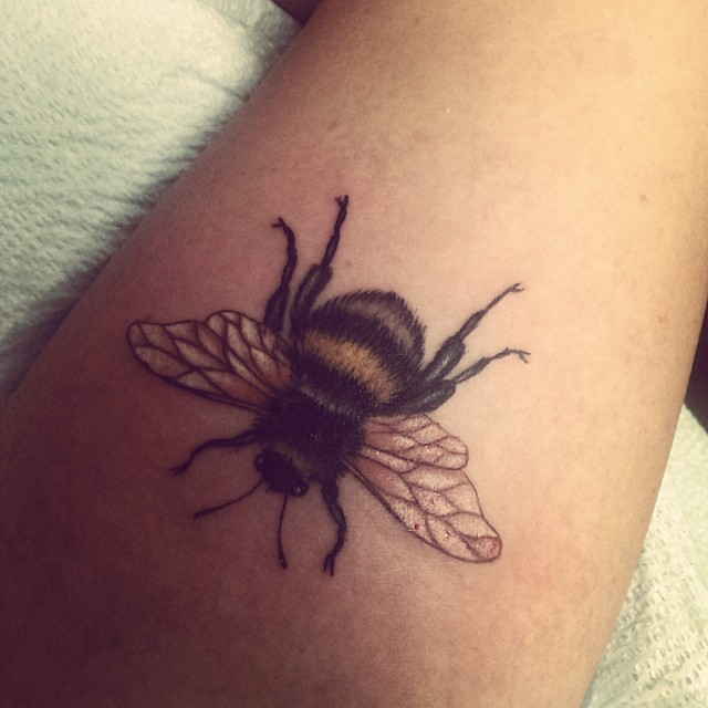 bumblebee tattoos photo - 7