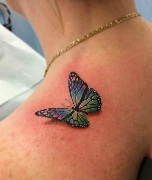 butterfly tattoos photo - 12