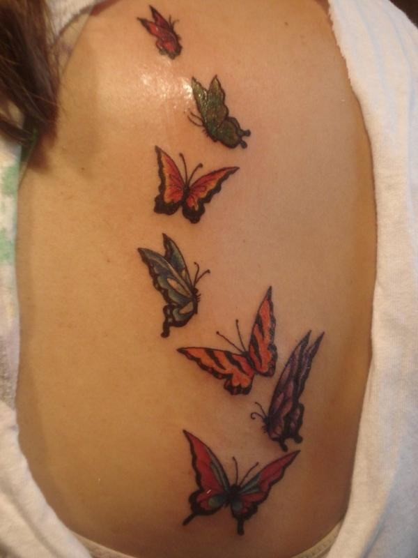 butterfly tattoos photo - 15