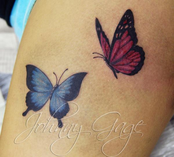 butterfly tattoos photo - 7