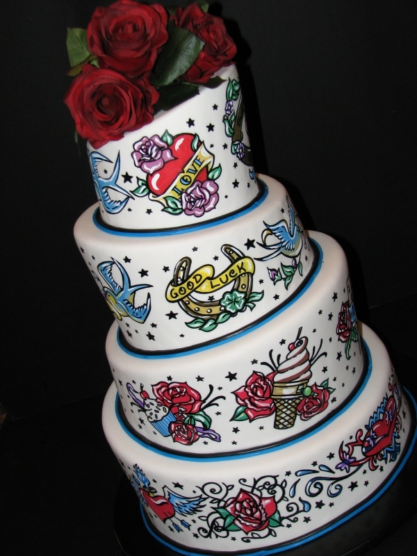 cake tattoos photo - 10