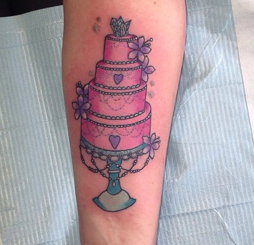cake tattoos photo - 16