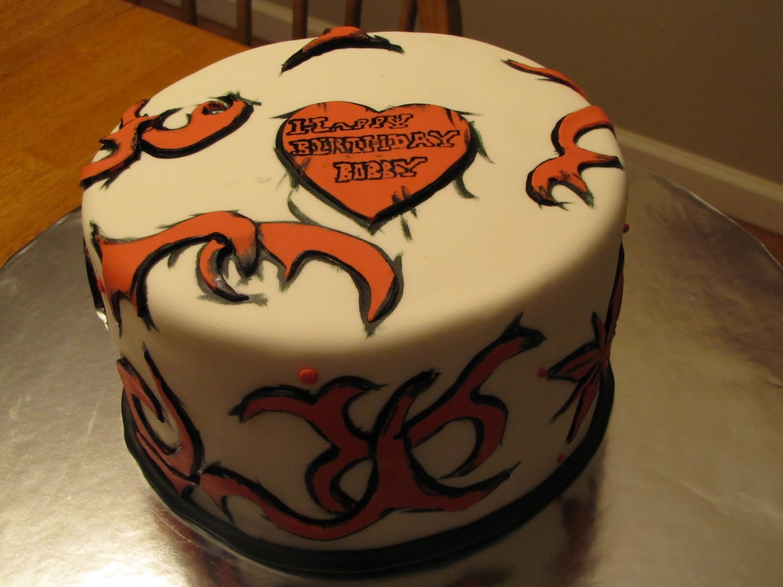 cake tattoos photo - 25