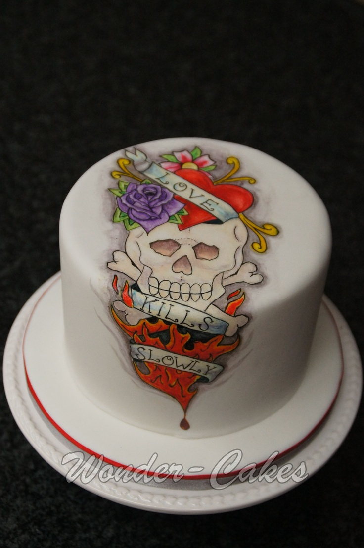 cake tattoos photo - 26
