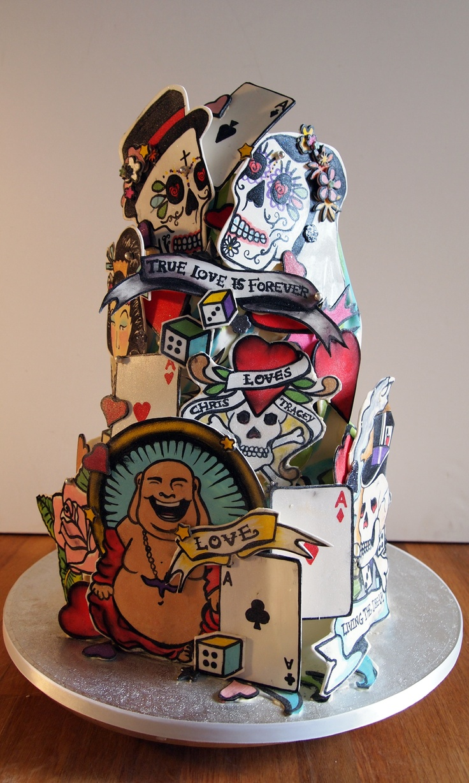 cake tattoos photo - 27