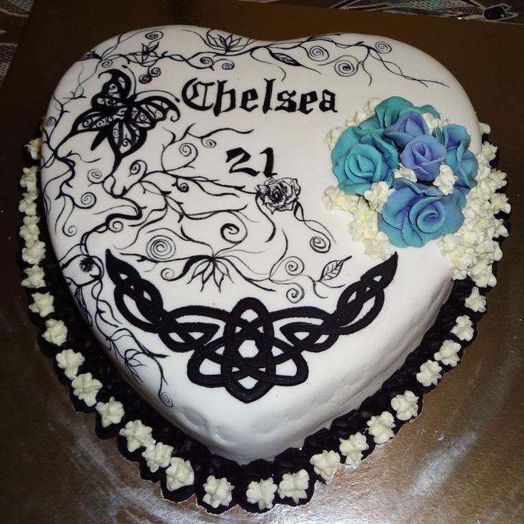 cake tattoos photo - 29