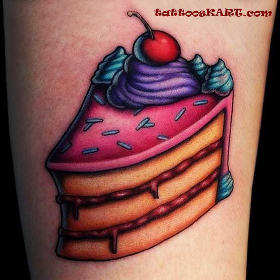 cake tattoos photo - 3