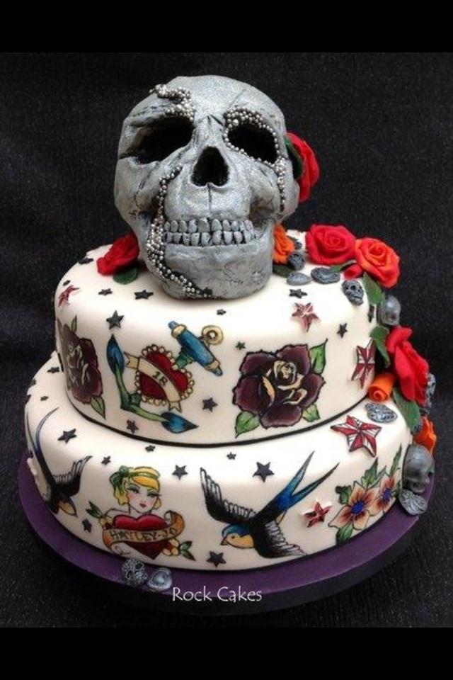 cake tattoos photo - 32