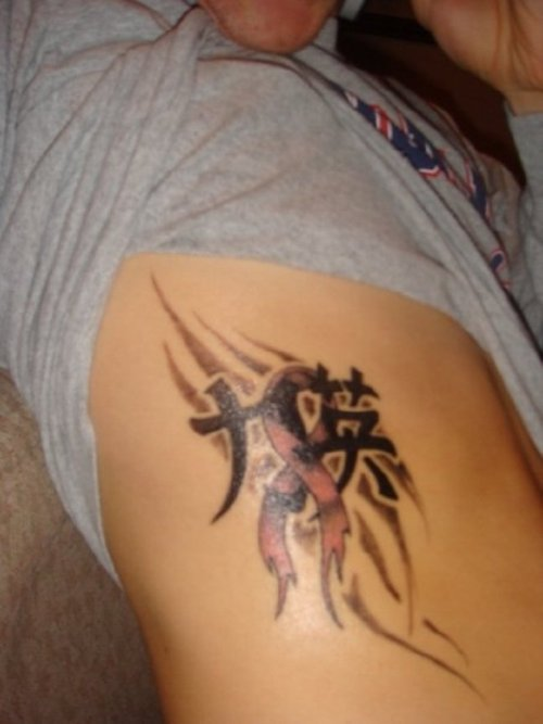 cancer tattoos photo - 1