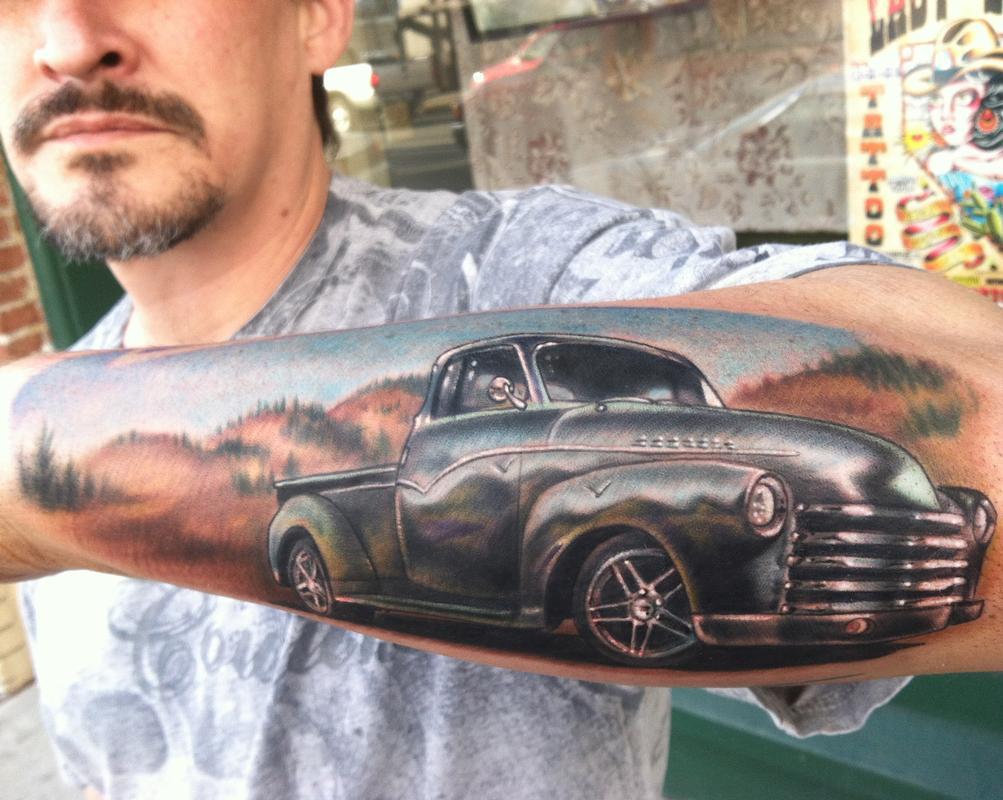 car tattoos photo - 1