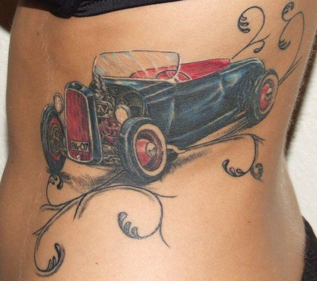 car tattoos photo - 12