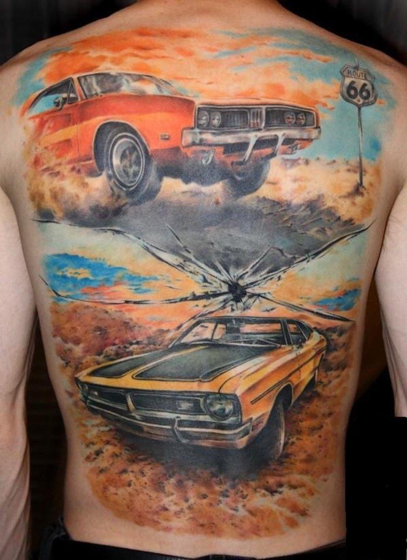 car tattoos photo - 19