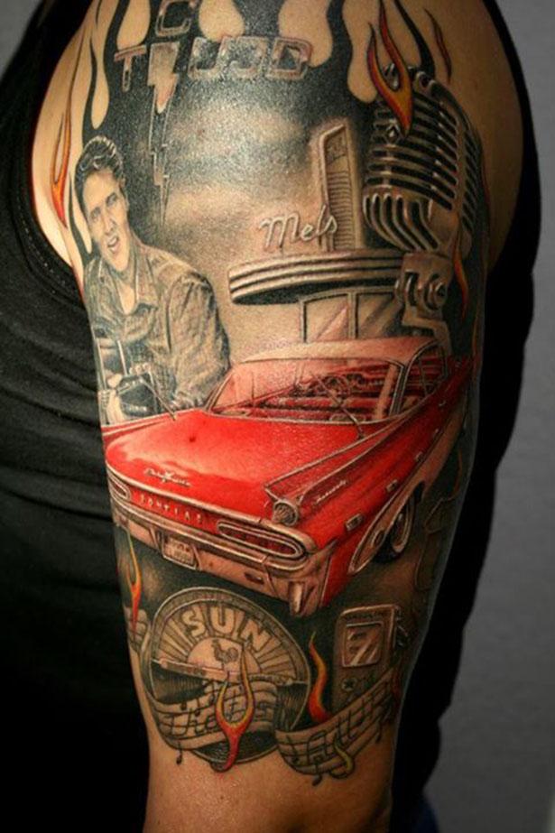 car tattoos photo - 2
