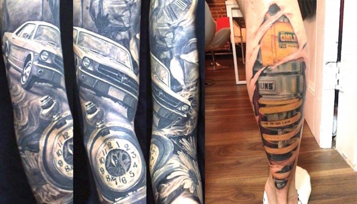 car tattoos photo - 22