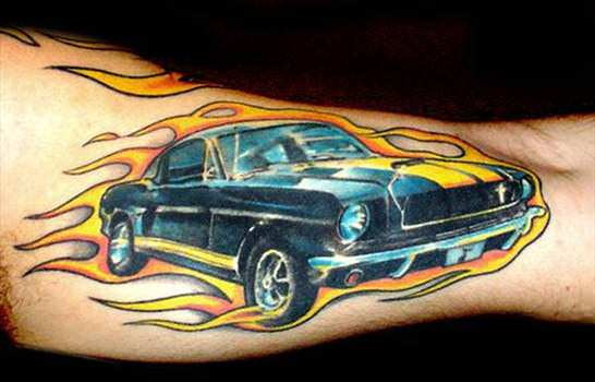 car tattoos photo - 23