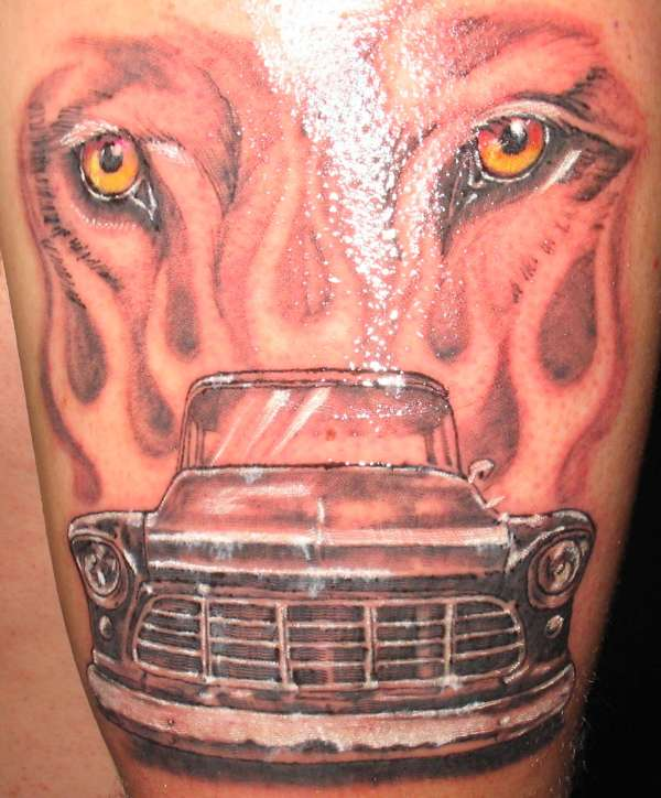 car tattoos photo - 26