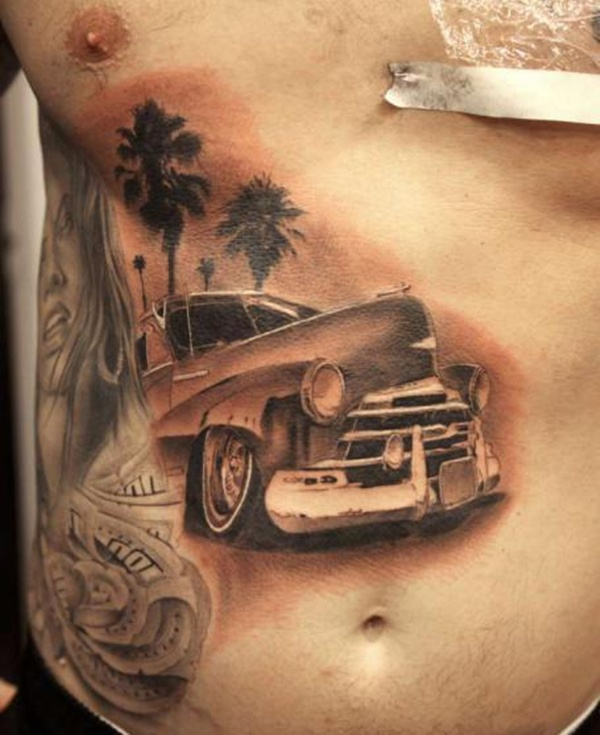 car tattoos photo - 3