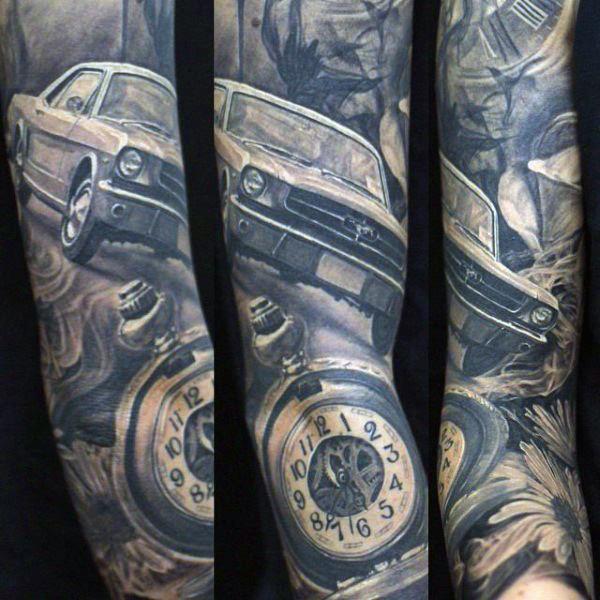 car tattoos photo - 34
