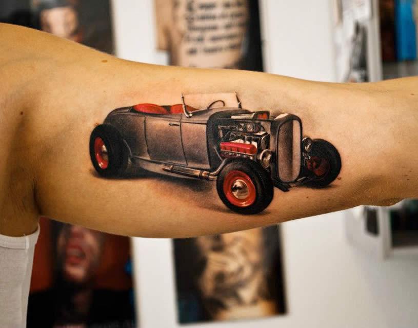 car tattoos photo - 39