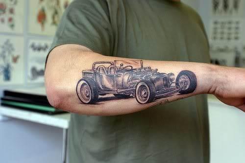 car tattoos photo - 4