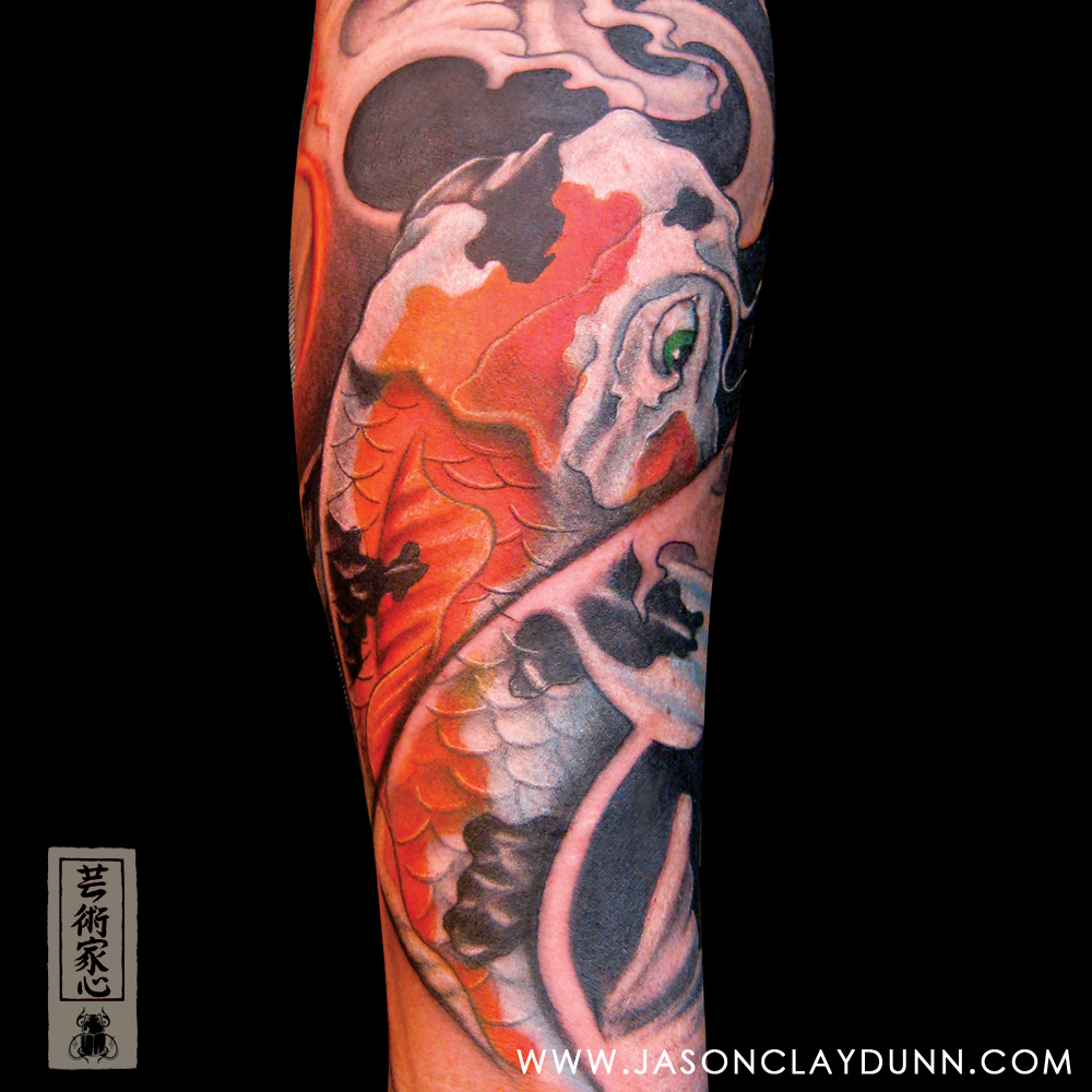 Carp Fish Tattoo Images Designs: Tattoo Ideas And Design