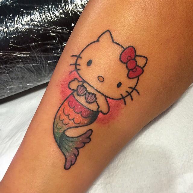 cartoon tattoos photo - 22