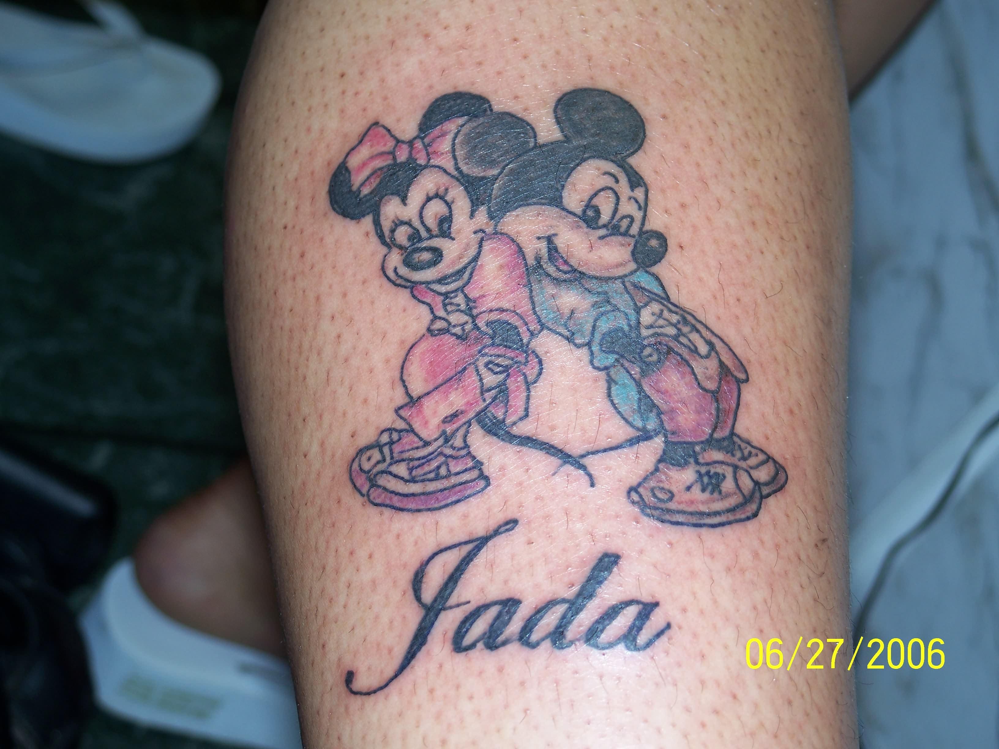 cartoon tattoos photo - 24