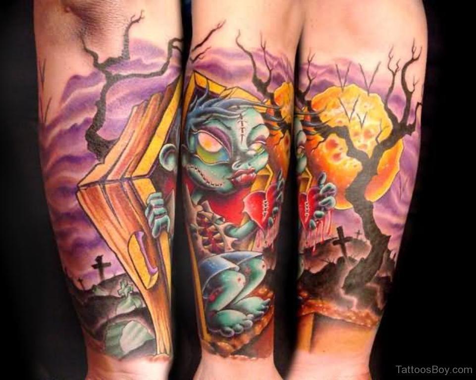 cartoon tattoos photo - 28